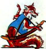 Лисиця на полюванні (таджицька казка)