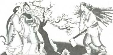 Лисиця-перевертень стає дружиною (китайська казка)