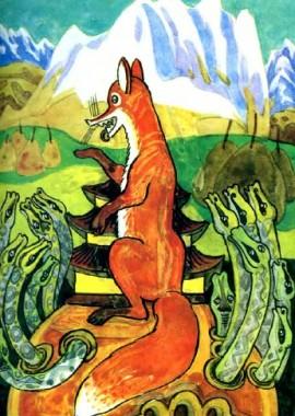 Лисиця-сваха (алтайська казка)