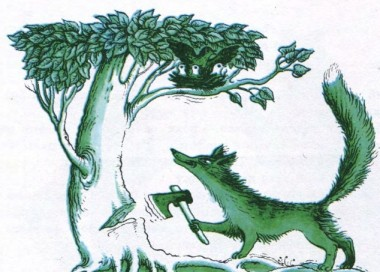 Лисиця і горобчиха (фінська казка)