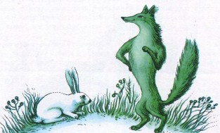 Лисиця і заєць (фінська казка)