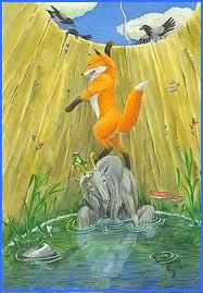 Лисиця і козел у ямі (українська народна казка)