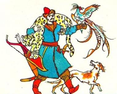 Людина найдужча (киргизька казка)