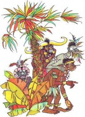 Лісові таємниці (африканська казка)