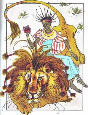 Маладо-перукарка (африканська казка)