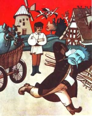 Мельничук і три лелеки (чеська казка)