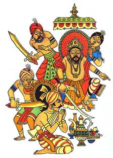 Меткий горобчик (індійська казка)