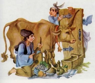 Милош і Дивоня (сербська казка)