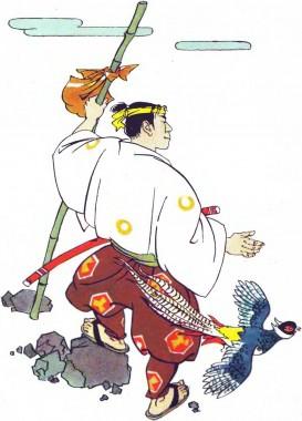 Момотаро, або Хлопчик-Персик (японська казка)
