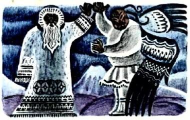 Мороз і вітер (коряцька казка)