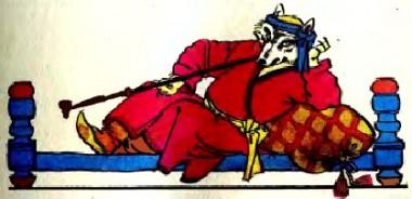 Москіт (таджицька казка)