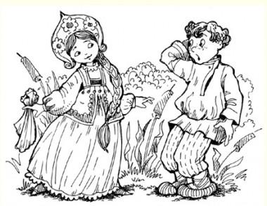 Мудра дружина (російська казка)
