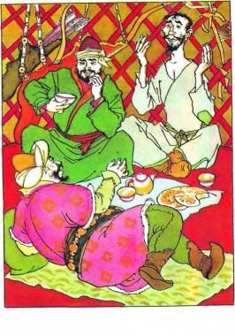 Мудрий візир (киргизька казка)