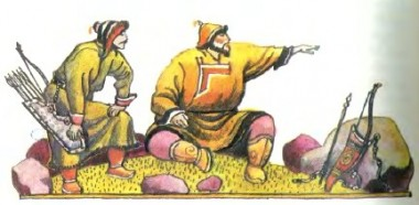 Мудрий стрілець (бурятська казка)