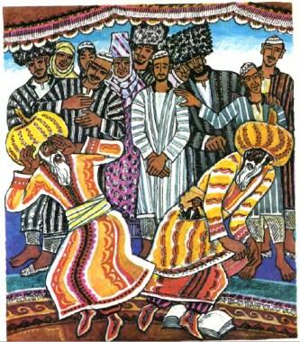 Мулла, казг та Яртигулак (туркменська казка)