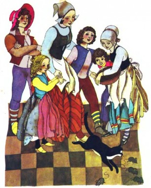 Мірошників заповіт (французька казка)