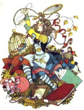 Необачна дівчинка (французька казка)