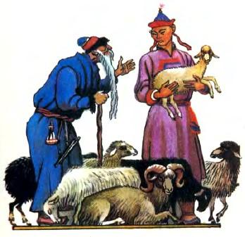Няня-Хубун (бурятська казка)