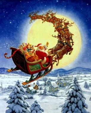 Ніч перед Різдвом (французька казка)