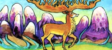 Ображений марал (алтайська казка)