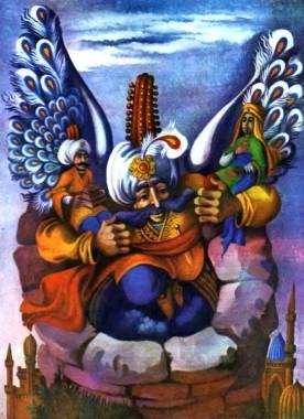 Падишахів син та дев (турецька казка)
