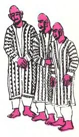 Падишах і три бідняки (туркменська казка)