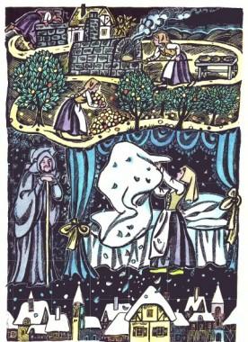Пані Метелиця (німецька казка)