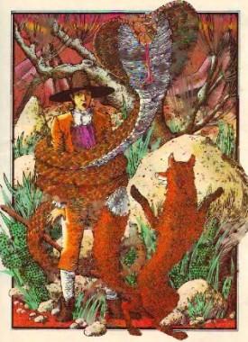 Пастух, кобра і лисиця (іспанська казка)