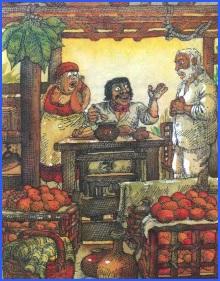 Педро Злий та дід і баба (кубинська казка)