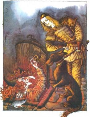 Переможець дракона (фінська казка)