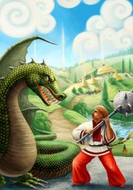 Переможець зміїв (українська народна казка)