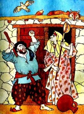 Перепелиця й лисиця (таджицька казка)