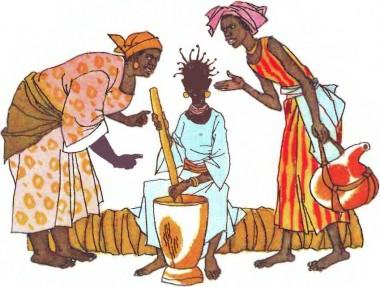 Перша ніч (африканська казка)