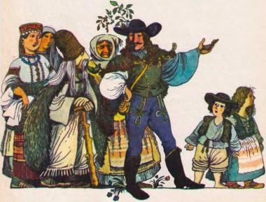 Петер-мандрівник (угорська казка)