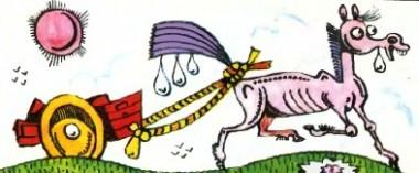 Поки не виросте хвіст у коня (казахська казка)