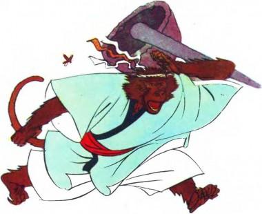Помста мавпі за рачиху (японська казка)