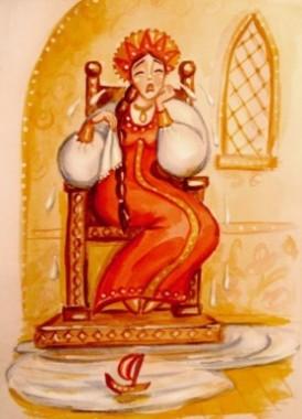 Про Марійку і сплячого легіня (українська народна казка)