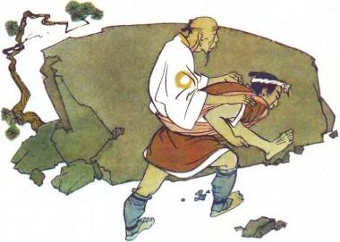 Про батька і вірного сина (японська казка)