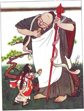 Про божество Дзідзо, якому смакували коржики (японська казка)