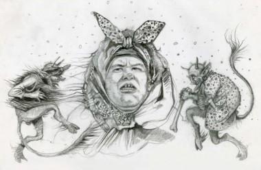 Про жінку, що виганяла чортів (українська народна казка)