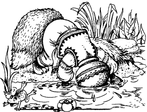 Про лисичку та глечик молока (українська народна казка)