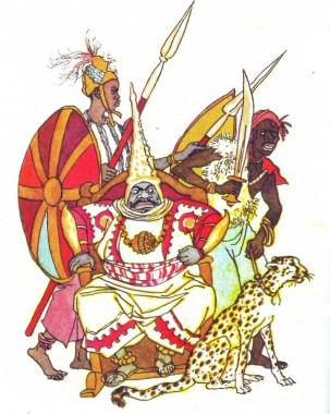 Про мисливця, чорний камінець і помаранчеву шкуринку (африканська казка)-2