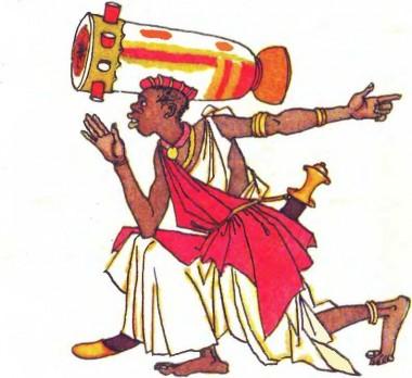 Про мисливця, чорний камінець і помаранчеву шкуринку (африканська казка)