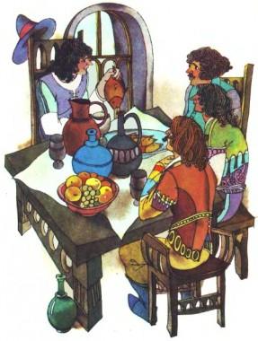 Про селянина та його пана (французька казка)