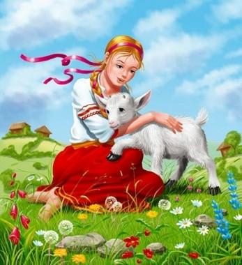 Про сестричку Оленку та її брата Івасика (українська народна казка)