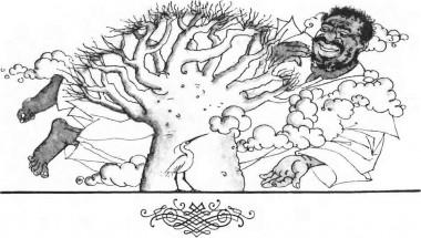 Птах-сурмач і грім (африканська казка)