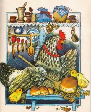 Пшеничний колосок (білоруська казка)