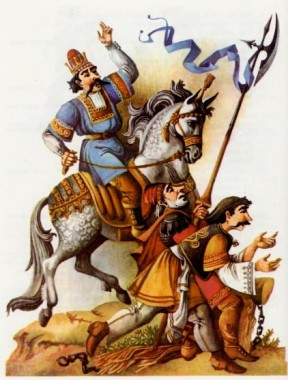 Півень і курка (хорватська казка)