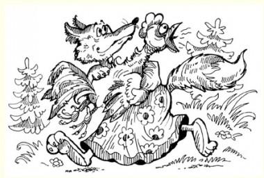 Півник – золотий гребінець (російська казка)