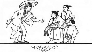 Риба-наречена (японська казка)